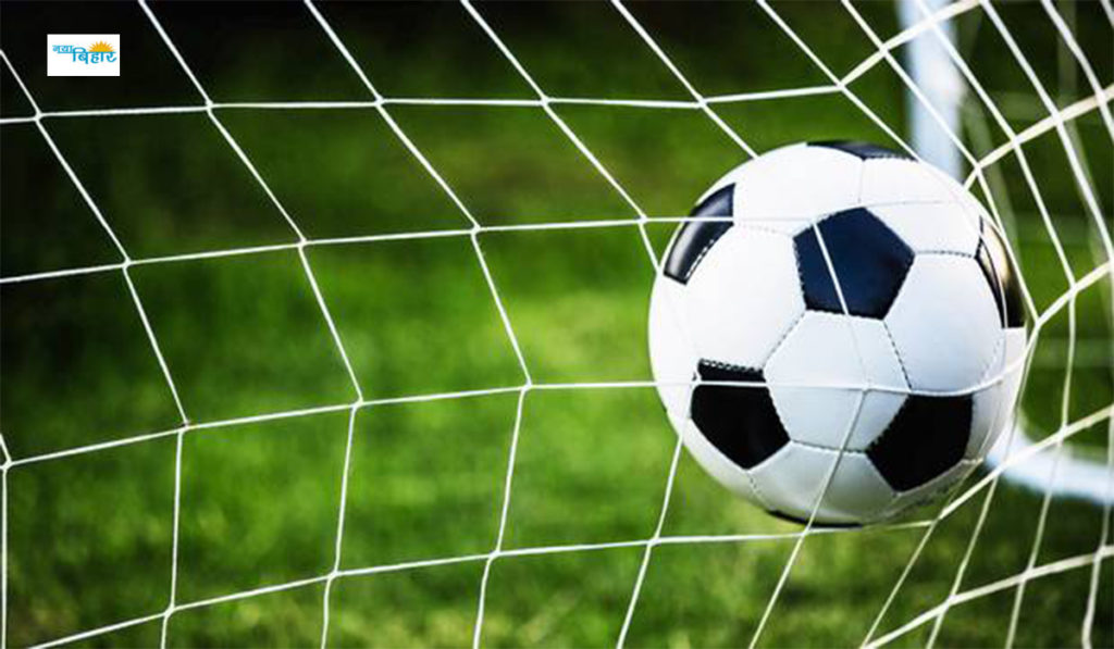 football match begins